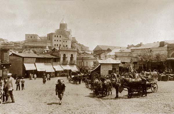 Старый Тифлис. Армянский базар и Мэйдан